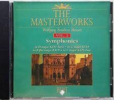 The Masterworks Vol. 2-Wolfgang Amadeus Mozart Symphonies K297,K318,K319,K425 CD