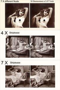 Consciencieux 18 Intéressantes Acte-stéréo Photos, La Toujours Fatigué Pour 1930, Et Mix, Lot 4-afficher Le Titre D'origine