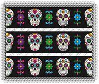 Dia De Los Muertos Day Of The Dead Cake Borders 3 Strips