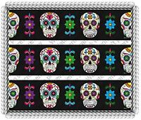 Dia De Los Muertos Day Of The Dead Cake Borders 3 Strips