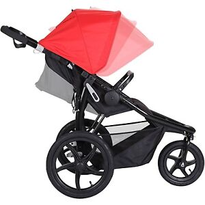Baby Trend Stealth Jogger Stroller Cardinal Infant Buggy