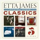 Original Album Classics [Box] by Etta James (CD, 2013, 5 Discs, Sony Legacy)