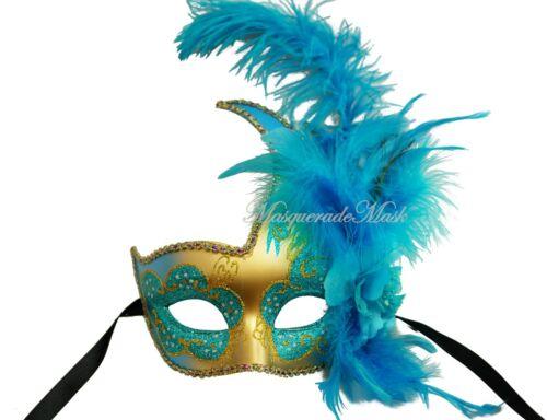 Fancy Dress Ostrich Peacock Masquerade Ball Mask Halloween Costume Party Fun