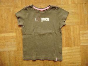 S-Oliver-Dolce-T-Shirt-Maglia-a-Maniche-Corte-Cachi-034-Amo-Gonna-034-Gr