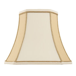 Endon-Camilla-lampshade-5-5-inch-Two-tone-cream-faux-silk-125mm-H-x-140mm-D-max