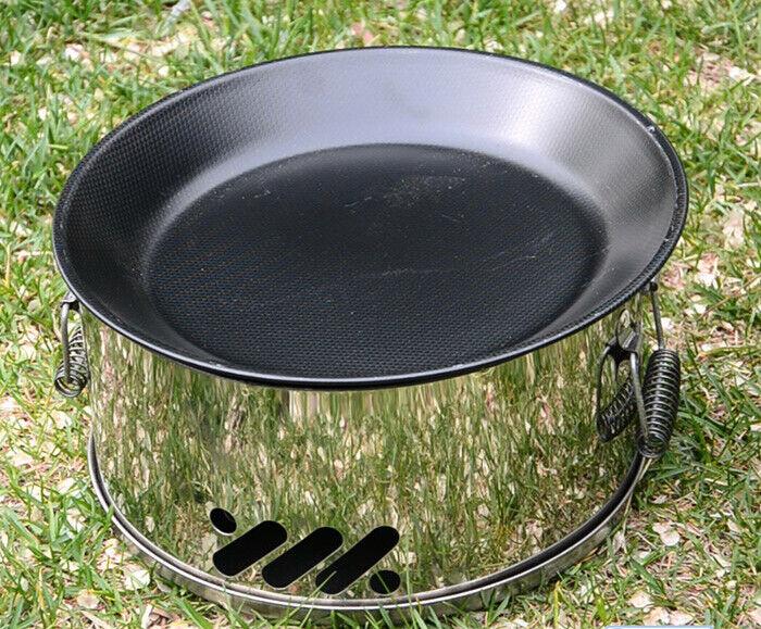 Estufa de Cochebón D29 Profesional Portátil Camping outdoor BBQ Barbacoa Net