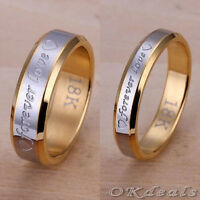 New Fashion Jewelry Forever love Men Ring Silver Plated Steel Ring Wedding Rings