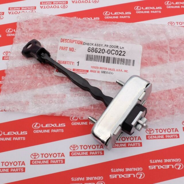 08-14 SEQUOIA RIGHT FRONT DOOR CHECK 68610-0C022 FAST SHIPPING  07-15 TUNDRA
