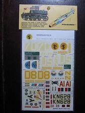 1/72  VINTAGE ESCI DECAL N°59 USA  DOUGLAS DC3 DAKOTA