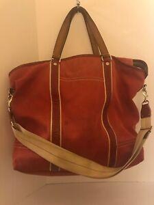 Xl Tote Diaper Bag Crossbody Red D0893