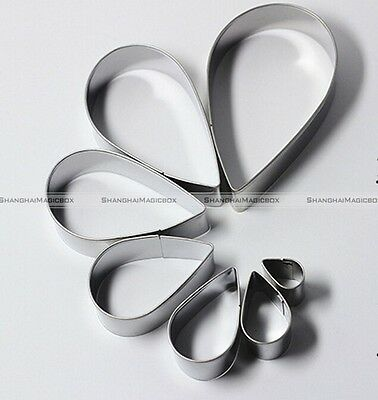 Stainless Steel Biscuit Cookie Pastry Fondant Mold Mould Cake Cutter Decorating