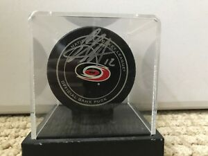 Eric-Staal-Signed-Official-Game-Puck-Carolina-Hurricanes