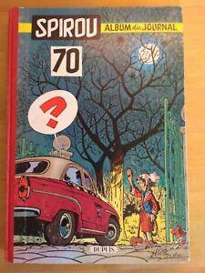 Le-Journal-de-Spirou-Album-N-70-reliure-editeur-Dupuis-1959