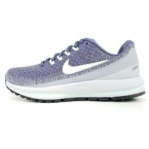Nike Air Zoom Vomero 13 Womens Running Light Carbon/Summit White 922909 002