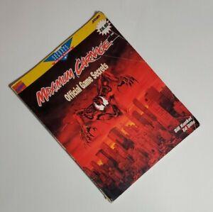 Maximum-Carnage-Official-Prima-Secrets-of-the-Game-Strategy-Guide-Nintendo-Sega