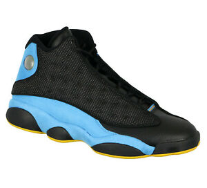 JORDAN-Retro-13-CP-PE-Basketball-Shoes-sz-10-5-Black-Orion-Blue-Chris-Paul