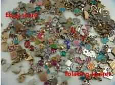 100p hot sale mixed floating charm for locket Charm accessories