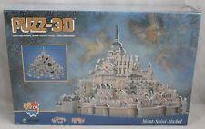Mont-Saint-Michel Puzz 3D Wrebbit Puzzle New in Box 220 Pieces 772666005032