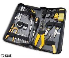 58 Piece PC Repair Tool Kit for Handyman, Computer Tech & Electrician, TL-K58S