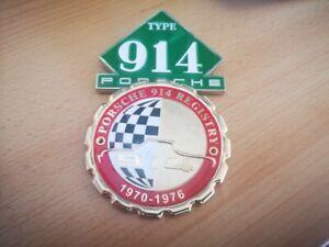 Cool Set De 2 Porsche 914 Grill Insignes Emblèmes 914 69-74-afficher Le Titre D'origine Prix De Vente Directe D'Usine