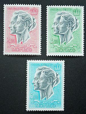 Yvert Et Tellier Aériens N°87 à 89 N cyn19 Aufstrebend Briefmarke Monaco Briefmarke