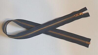 23 inch Deep Black #5V Vislon Separating Ideal Zipper New!