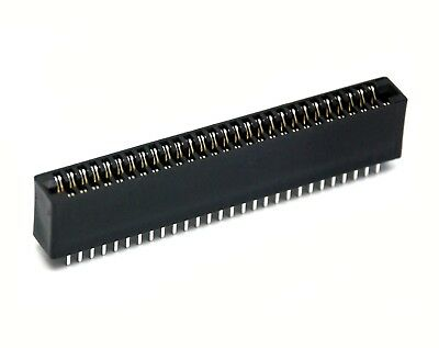 """50pc Industrial Card Edge Slot Socket Connector 28x2P 56P 2.54mm 0.1/"""" 3A 240-56"""
