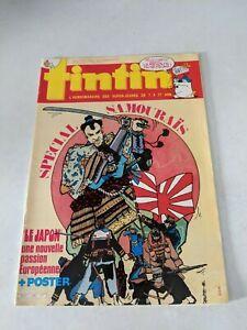1986-Tintin-L-039-hebdomadaire-des-Super-Jeunes-9-Magazine-Code-FS