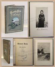 Andresen Gesammelte Gedichte 1896 mit Widmung & Lichtbild der Verfasserin xz