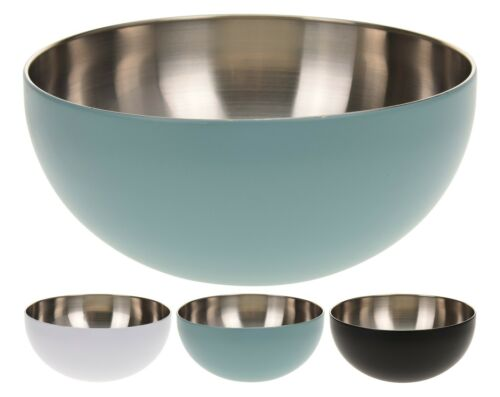 Kit 20 CM GARANTI en acier inoxydable Blanc noir turquoise Argent Coquille