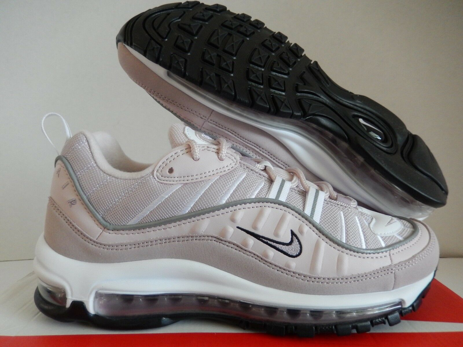 WMNS NIKE AIR MAX 98 BARELY ROSE PINK-ELEMENTAL ROSE SZ 9 [AH6799-600]