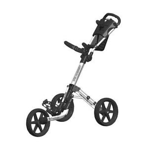 FastFold-Mission-5-0-3-Wheel-Golf-Trolley-White-Black