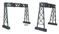 N Scale 2 Signal Bridge Kits, Bulk Purchase Model Power In Sealed Bag 1311
