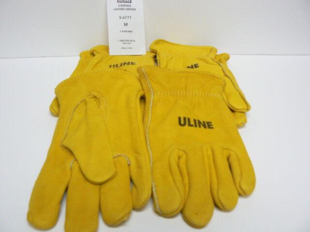 Driver Gloves 3 pair med s 6777 uline