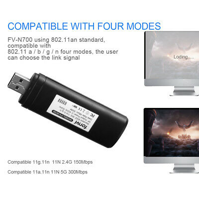 New USB WIFI Wireless Adapter 300M for SAMSUNG WIS09ABGN WIS12ABGNX