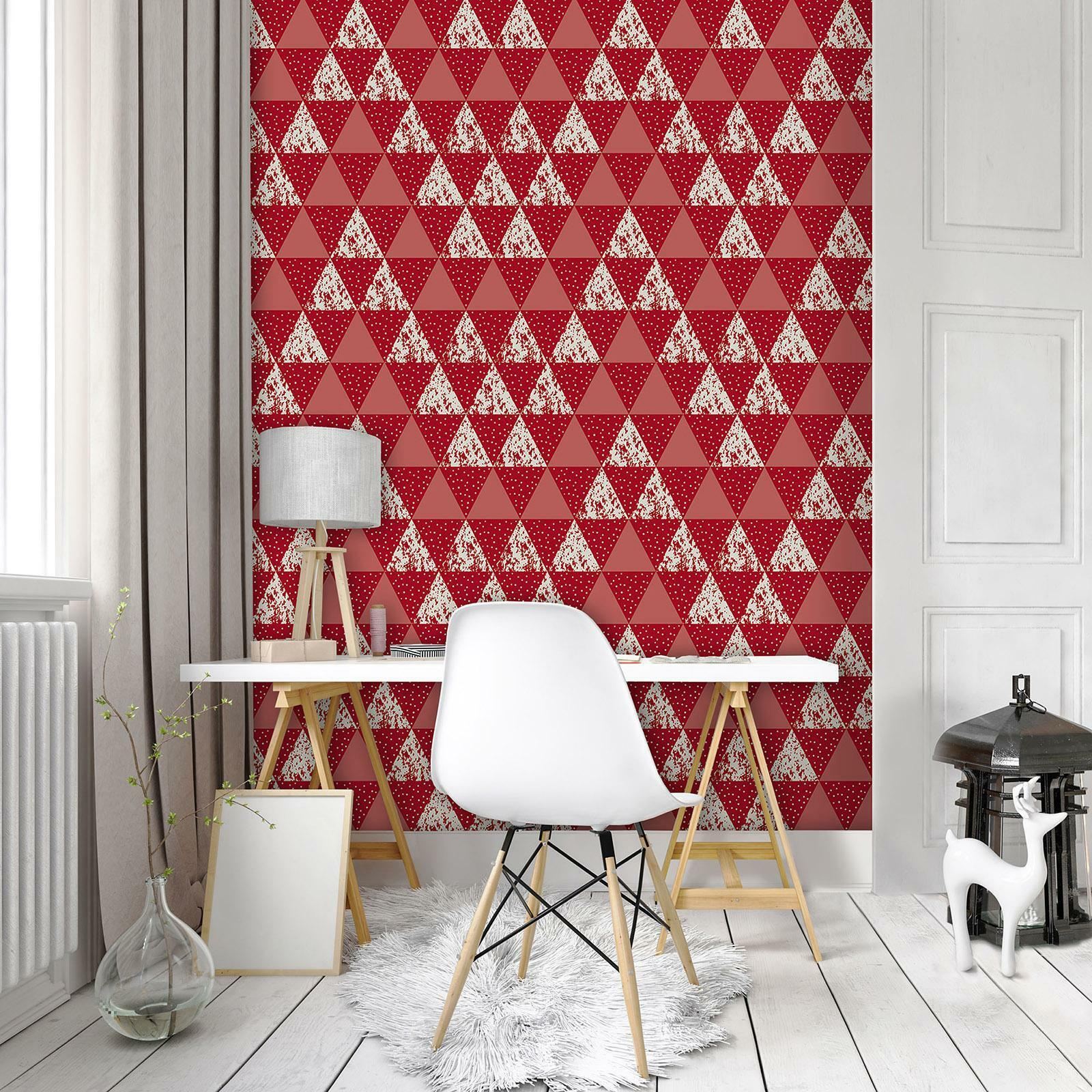 Photo Wallpaper Mural Non-woven 10741_VEA Triangles Mosaic abstract geometry geo