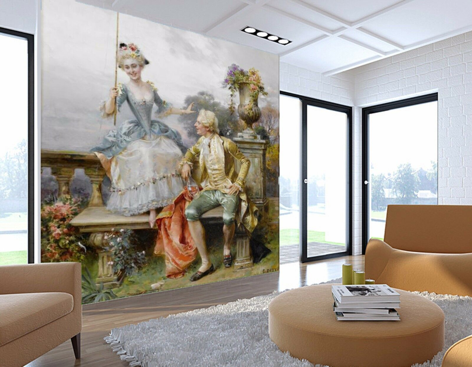 3D Family fishing 3235 Wall Paper Wall Print Decal Wall Indoor Murals Wall US