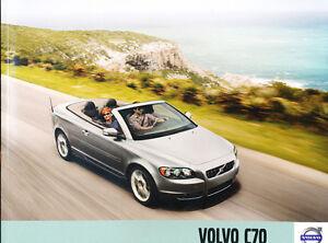 2010 Volvo C70 34-page Original Car Sales Brochure Catalog - Convertible