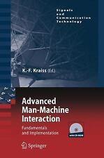 Signals and Communication Technology: Advanced Man-Machine Interaction :...