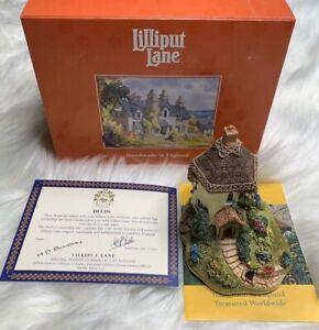 Lilliput-Lane-863-034-superpoblado-Cottage-034-1996-Eng-Coll-se-con-escritura-y-Caja-de-Inglaterra