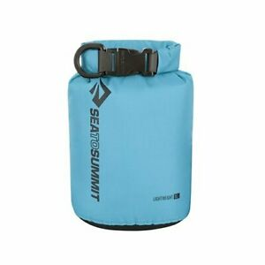 1 LITRE BLUE Dry Carry Bag Waterproof Storage Boat Kayak Sack Backpack Pouch