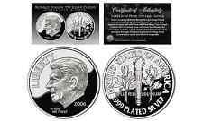 First-Ever 2006 RONALD REAGAN Tribute .999 Fine Silver Plated Commemorative DIME