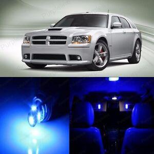 Blue LED License Plate Lights DODGE Magnum 2005-2008 2006 2007