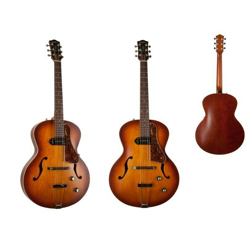 Godin 5th Avenue CW Kingspin p90 Cognac Burst semi-akustische Gitarre