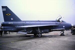2-248-English-Electric-Lightning-Royal-Air-Force-XR773-Kodachrome-slide