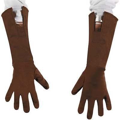 NWT Captain America Long Gloves Child ages 4+ Pretend Play Halloween Costume