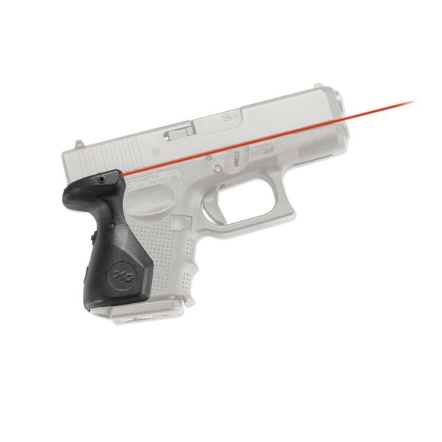 Crimson Trace Red Lasergrips for Glock 26/27/33 Gen 4 Only  - LG-852