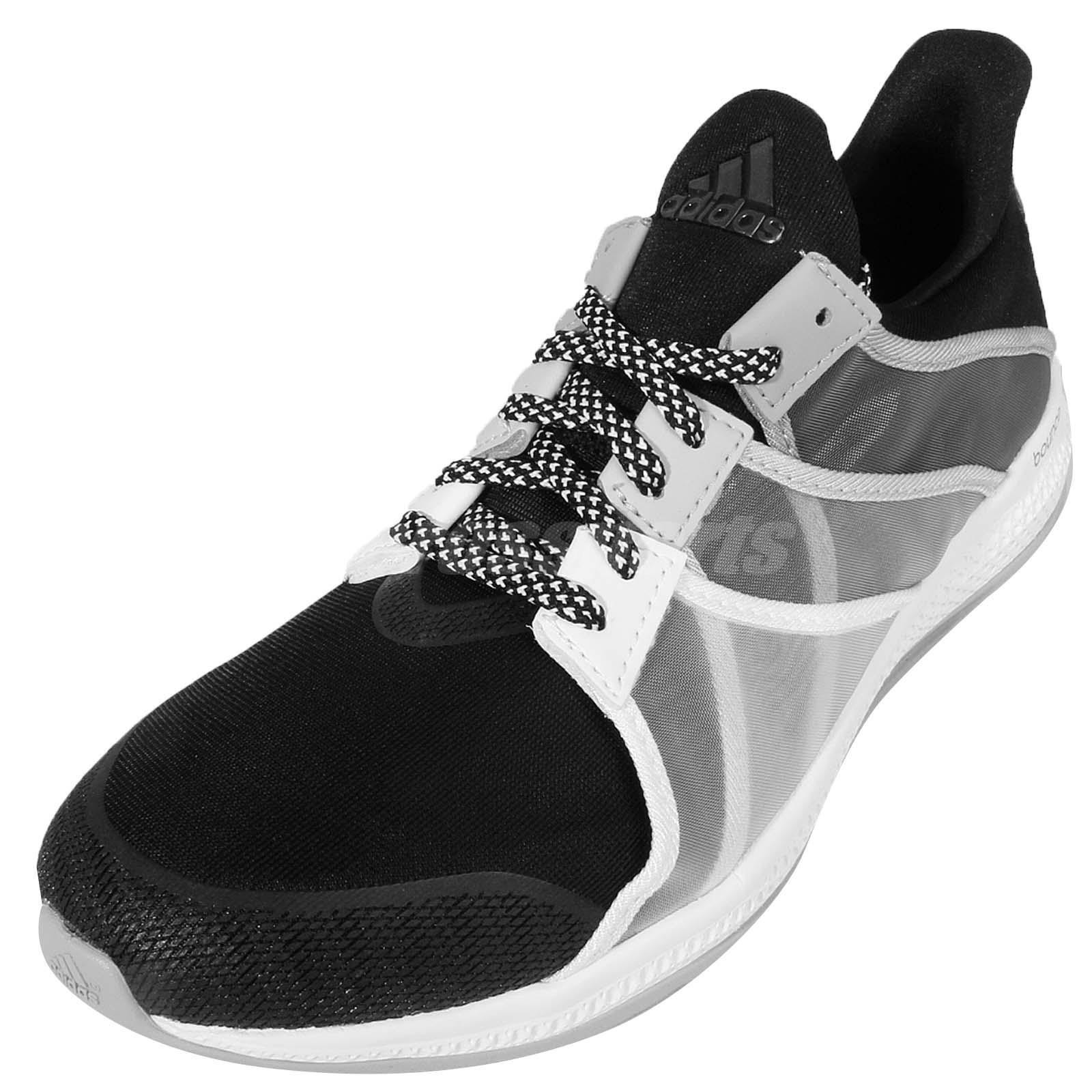 Nuevas Adidas Bounce Negro Zapatos Cruzado Para Mujer Entrenamiento Cruzado Zapatos entrenador AF5945 5ae9d3