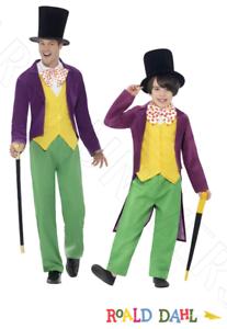 Roald Dahl World Book Day Children/'s Adults Willy Wonka Fancy Dress Costume