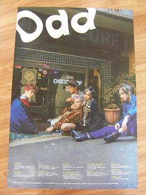 SHINee - ODD (B VER.) [ORIGINAL POSTER]  K-POP *NEW*